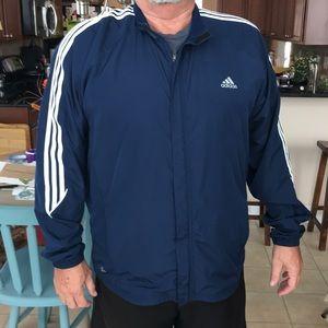 Adidas running jacket Climaproof.